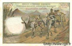 1000 Francs - 200 Ariary MADAGASCAR  1960 P.56a SUP à SPL