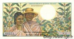 1000 Francs - 200 Ariary MADAGASCAR  1966 P.59a SUP