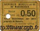 50 Centimes MADAGASCAR  1920 P.-- TTB