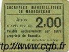 2 Francs MADAGASCAR  1920 P.-- SUP