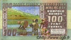 100 Francs - 20 Ariary MADAGASCAR  1974 P.63a pr.SUP