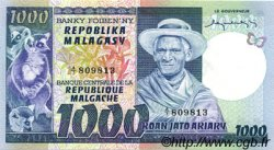 1000 Francs - 200 Ariary MADAGASCAR  1974 P.65a NEUF