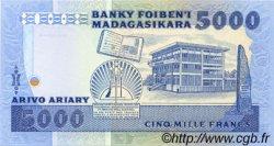 5000 Francs - 1000 Ariary MADAGASCAR  1983 P.69 pr.NEUF