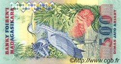 2500 Francs - 500 Ariary MADAGASCAR  1988 P.72Aa NEUF