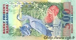 2500 Francs - 500 Ariary MADAGASCAR  1988 P.72Ab NEUF