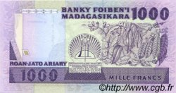 1000 Francs - 200 Ariary MADAGASCAR  1988 P.72b NEUF