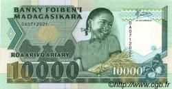 10000 Francs - 2000 Ariary MADAGASCAR  1988 P.74a pr.NEUF