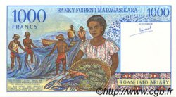 1000 Francs - 200 Ariary MADAGASCAR  1994 P.76a NEUF