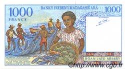 1000 Francs - 200 Ariary MADAGASCAR  1994 P.76b NEUF