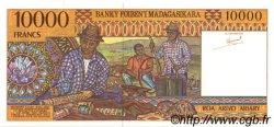 10000 Francs - 2000 Ariary MADAGASCAR  1994 P.79a NEUF