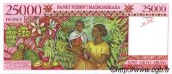 25000 Francs - 5000 Ariary MADAGASCAR  1998 P.82 NEUF