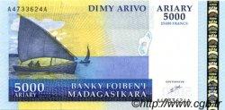 25000 Francs - 5000 Ariary MADAGASCAR  1998 P.84 NEUF