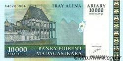 50000 Francs - 10000 Ariary MADAGASCAR  1998 P.85 NEUF