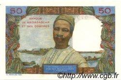 50 Francs COMORES  1963 P.02b pr.NEUF