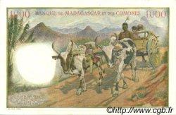 1000 Francs COMORES  1963 P.05b pr.SPL