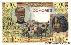 5000 Francs COMORES  1963 P.06c pr.NEUF