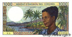 1000 Francs COMORES  1976 P.08a NEUF
