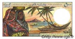 500 Francs COMORES  1986 P.10a pr.NEUF