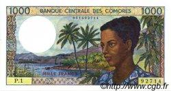 1000 Francs COMORES  1986 P.11a NEUF