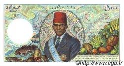 5000 Francs COMORES  1986 P.12a pr.NEUF