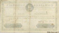 100 Livres FRANCE  1791 Laf.140 TTB+