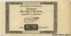 10 Livres FRANCE  1791 Laf.146 pr.NEUF