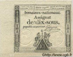 10 Sous FRANCE  1792 Laf.148 SUP+