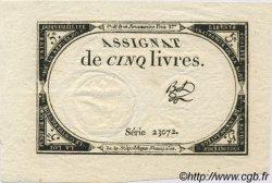 5 Livres FRANCE  1793 Laf.171 pr.NEUF