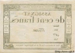 100 Francs FRANCE  1795 Laf.173 SPL