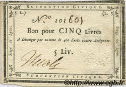 5 Livres FRANCE  1793 Laf.253 SUP