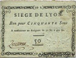 50 Sous FRANCE  1793 Laf.254b SUP