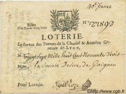 5 Livres FRANCE  1713 Laf.-- TTB