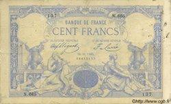 100 Francs 1882 FRANCE  1885 F.A48.05 B à TB