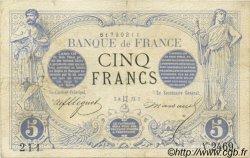 5 Francs NOIR FRANCE  1873 F.01.18 TB
