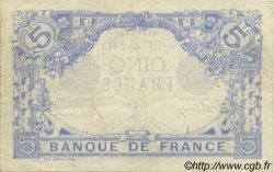 5 Francs BLEU FRANCE  1912 F.02.02 TTB+ à SUP