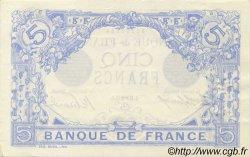 5 Francs BLEU FRANCE  1912 F.02.11 SPL