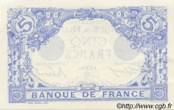 5 Francs BLEU FRANCE  1915 F.02.25 SUP