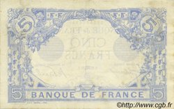 5 Francs BLEU FRANCE  1915 F.02.32 pr.SUP