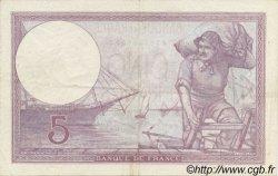 5 Francs VIOLET modifié FRANCE  1939 F.04.05 pr.SUP