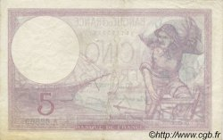 5 Francs VIOLET modifié FRANCE  1939 F.04.09 TTB+