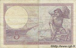 5 Francs VIOLET modifié FRANCE  1940 F.04.18 TB+