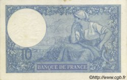 10 Francs MINERVE FRANCE  1917 F.06.02 SUP+