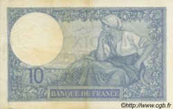 10 Francs MINERVE FRANCE  1926 F.06.11 SUP+
