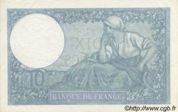 10 Francs MINERVE modifié FRANCE  1940 F.07.21 SUP à SPL