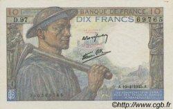 10 Francs MINEUR FRANCE  1945 F.08.13 pr.NEUF