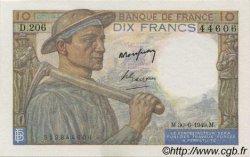 10 Francs MINEUR FRANCE  1949 F.08.22a