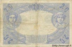 20 Francs NOIR FRANCE  1874 F.09.01 TB+