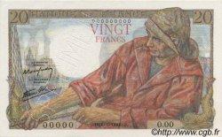 20 Francs PÊCHEUR FRANCE  1942 F.13.00 pr.NEUF