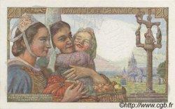 20 Francs PÊCHEUR FRANCE  1942 F.13.00s1 pr.NEUF
