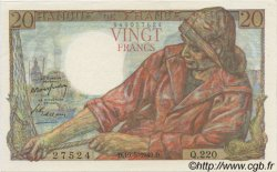 20 Francs PÊCHEUR FRANCE  1949 F.13.15 pr.NEUF
